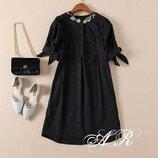 Красивое платье 42 - 46 три расцветки