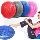 Подушка балансировочная для фитнеса Balance Cushion 4272 4 цвета, 33x5см