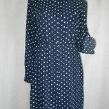 Платье рубашка в горошек mela london 16p