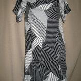 Вискозное платье со спущенными плечами New Look р-р12,