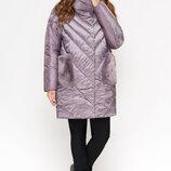 Braggart cтильная зимняя теплая женская куртка 1893