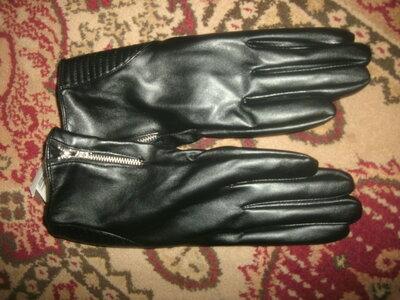 перчатки на флисе
