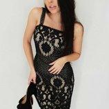 Красивое платье кружево две расцветки