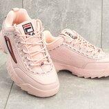 Кроссовки женские Fila Disruptor II Sneaker rose