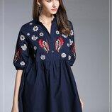 Платье - туника 42 - 46 две расцветки