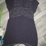 Стильное шелковое платье от Kaliko р. 12
