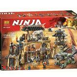 Конструктор Bela 10940 Ниндзяго Пещера драконов аналог Lego Ninjago 70655