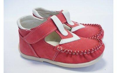 Туфли ортопедические кожаные для девочки, новые, Тм Берегиня 22, 23, 24