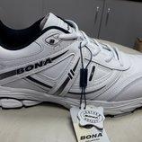 Мужские кожаные кроссовки Bona.
