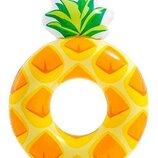 Детский надувной круг ананас