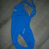 Speedo endurance,оригинал голубой антихлорный купальник для плавания