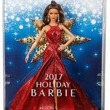 Barbie Holiday Коллекционная Барби брюнетка Тереза 2017