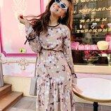 Нежное платье 42 - 44,44 - 46, расцветки разные