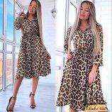 Нежное, стильное платье 42 - 44 две расцветки