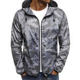 Cedarwood State/Легкая куртка ветровка на подкладке/бомбер с капюшоном