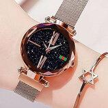 Женские наручные часы Starry Sky watch gold