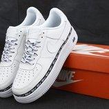 Мужские кроссовки Nike Air Force 1 '07 SE Premium White белый