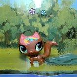 Котик сблестком littlest pet shop Hasbro