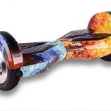 Гироскутер Smart Balance Lambo LED 8 дюймов c автобалансом - Ice & Fire