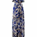 Платье Roberto Cavalli длинное шелковое летнее в наличии