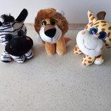 Мягкие игрушки зверушки