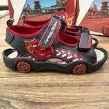 Боссоножки -сандали для мальчика Disney Rixar Тачки Маквин 24,25,26,28,30 р