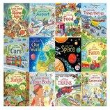 Энциклопедии c сюрпризами книги на английском языке для детей