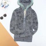 Обалденная куртка ромпер на овчине в цветы