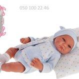 Пупс младенец ребоон Ника в пижаме, 40см, Antonio Juan 3391, Антонио Хуан