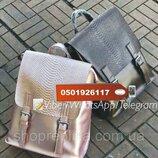 Стильные кожаные рюкзачки трансформеры , рюкзак кожа KT32245 цвет пудра