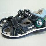 Кожаные закрытые сандалии ортопед Bi&ki Tom.m