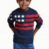 Хлопковый джемпер свитер от H&M
