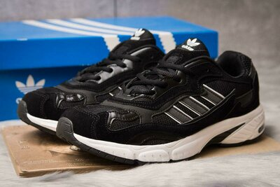 Кроссовки Adidas Adiprene 44,45 размер, стелька 29,5 см, замша, скидка, распродажа