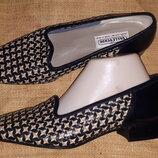 40h-26/5 см кожа туфли новые Valleverde Made in Italy