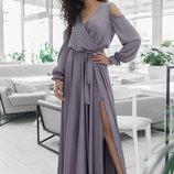 Нарядное платье «Девика»42 - 46 пять расцветок