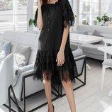 Платье «Ангелина» черное