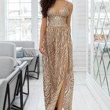 Шикарное платье «Sannata» две расцветки