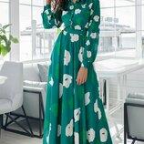Шикарное платье «Лада цветы»
