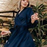 Шикарное платье Stileo джерси 42 - 46 девять расцветок