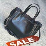 Женская сумочка сумка Celine из натуральной кожи , кожаные сумки большие
