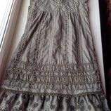 Летнее платье Next на 5-7 лет в идеале р. 6-116см