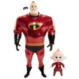 Набор кукол Суперсемейка 2The Incredibles 2 Mr. Incredible Jack Jack