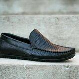 Кожаные мокасины, люкс качество, туфли на каждый день
