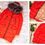 зимняя куртка размер С, 42