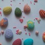 Сахарные яйца для украшения кондитерских изделий
