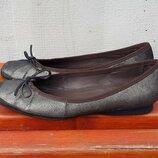 Кожаные балетки туфли мокасины Geox Respira 38 р. Оригинал
