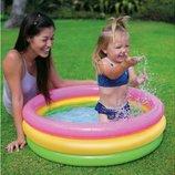 Детский надувной бассейн Радуга Intex 58924, 86х25см, 83л