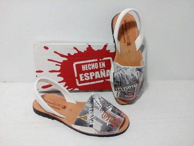 Испанские кожаные менорки абаркасы Тм Menorguina
