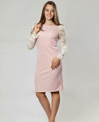 Платье с гипюром, красивое платье, романтичное платье