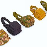 Рюкзак тактический патрульный однолямочный Silver Knigh 098 объем 20л, размер 25х23х10см
